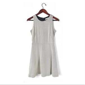 Ann Taylor dress shift tweed sleeveless Career 0
